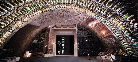 Weinkeller im Wellnesshotel Jagdhof bei Passau