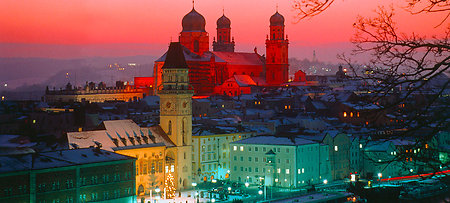Blick auf Passau in Bayern